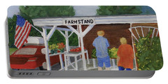 Summer Farm Stand Portable Battery Charger
