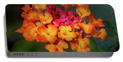 Summer Floral Colors Portable Battery Charger