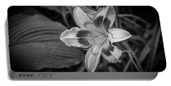 Portable Battery Charger featuring the photograph Summer Flower by Ray Congrove