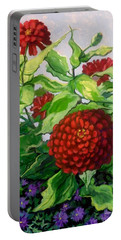 Summer Flowers 3 Portable Battery Charger