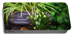Summer Garden 2 Portable Battery Charger by Bonnie Bruno
