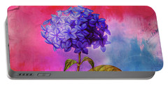 Summer Hydrangea Portable Battery Charger