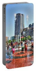 Summer In Boston Portable Battery Charger