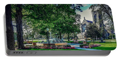 Portable Battery Charger featuring the photograph Summer In Juckett Park by Kendall McKernon
