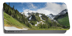 Summer In Olympic National Park Portable Battery Charger