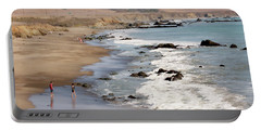 Portable Battery Charger featuring the photograph Summer In San Simeon by Art Block Collections