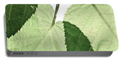 Summer Leaves Portable Battery Charger by Tim Good