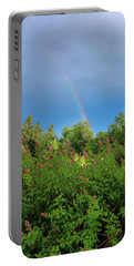 Portable Battery Charger featuring the photograph Summer Light by Rose-Marie Karlsen