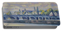 Summer Maas Bridge Maastricht Portable Battery Charger