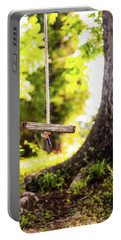 Portable Battery Charger featuring the photograph Summer Memories On The Farm by Shelby Young
