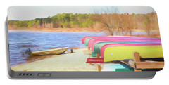 Portable Battery Charger featuring the photograph Summer Memories by Wade Brooks