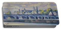 Summer Meuse Bridge, Maastricht Portable Battery Charger