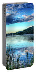 Summer Morning On The Lake Portable Battery Charger