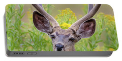 Summer Mule Deer Portable Battery Charger