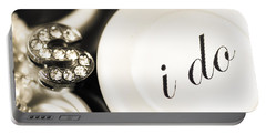 Summer Or Spring Wedding Details Portable Battery Charger