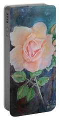 Summer Rose - Painting Portable Battery Charger by Veronica Rickard
