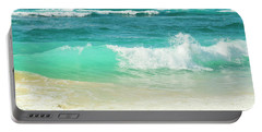Portable Battery Charger featuring the photograph Summer Sea by Sharon Mau