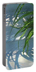 Portable Battery Charger featuring the photograph Summer Shadows by Nancy Lee Moran