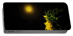 Summer Solstice Flower 2016 Portable Battery Charger by Angela J Wright