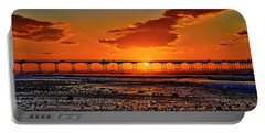 Summer Solstice Sunset Portable Battery Charger