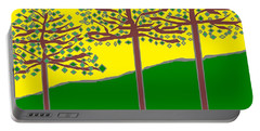 Summer Stained Glass 2 Portable Battery Charger