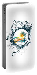 Summer State Of Mind Portable Battery Charger