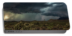 Portable Battery Charger featuring the photograph Summer Storm  by Saija Lehtonen