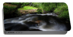 Portable Battery Charger featuring the photograph Summer Stream by Tim Nichols