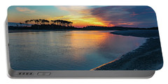 Summer Sunrise At The Inlet Portable Battery Charger
