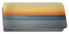 Summer Sunset Portable Battery Charger by Az Jackson