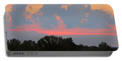 Summer Sunset In Missouri Portable Battery Charger