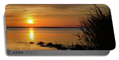Summer Sunset Portable Battery Charger