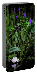 Portable Battery Charger featuring the photograph Summer Swamp 2017 by Bill Wakeley