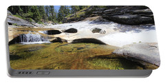 Portable Battery Charger featuring the photograph Summer Swimming Hole by Sean Sarsfield