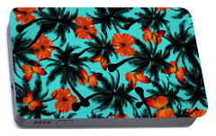 Summer Time  Portable Battery Charger by Mark Ashkenazi