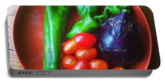 Summer Vegetables Portable Battery Charger