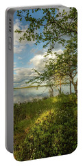 Portable Battery Charger featuring the photograph Summer View by Rose-Marie Karlsen