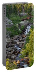 Summer Waterfall Portable Battery Charger