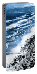 Summer Waves Cape Lookout Oregon Coast Portable Battery Charger