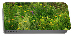Summer Wildflowers Portable Battery Charger