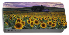 Summertime Sunflowers Portable Battery Charger