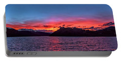 Summit Cove And Summerwood Sunset Portable Battery Charger