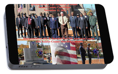 Portable Battery Charger featuring the photograph Sumter County Memorial Of Honor by Jerry Battle