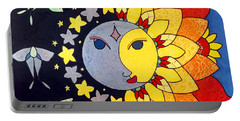 Sun And Moon Portable Battery Charger