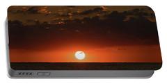 Sun Ball Sunrise Delray Beach Florida Portable Battery Charger