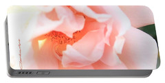 Sun-drenched Rose Portable Battery Charger