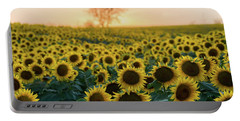 Sun Flowers Iv Portable Battery Charger