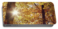 Sun In Fall Portable Battery Charger