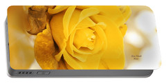 Portable Battery Charger featuring the photograph Sun Kissed Rose by Athala Carole Bruckner