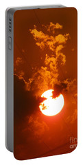 Sun On Fire Portable Battery Charger